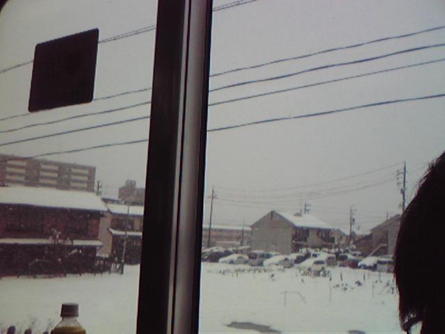 【鉄道マニアへ大雪情報】現在、大垣